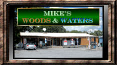 Mike's Woods and Waters Logo